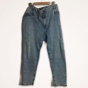 Fuko Jeans women's size 20 destressed